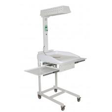 Стол для санитарной обработки новорожденных АИСТ 1 (с матрацем)