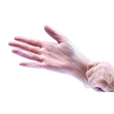 Виниловые перчатки размер L