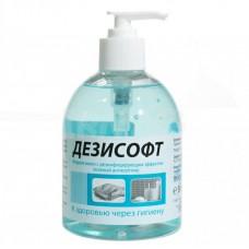"""Жидкое мыло """"Дезисофт"""" с дезинфицирующим эффектом-  0,5 л."""