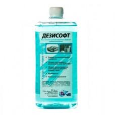 Дезисофт жидкое мыло с дезинфицирующим эффектом-  1л. Евро-флакон