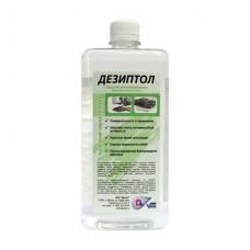 Антисептик на спиртовой основе Дезиптол 1 литр.