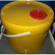Контейнер для сбора мед.отходов   5 л. с клапаном.