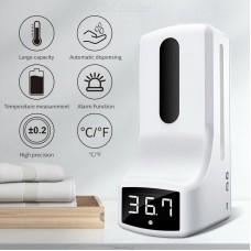 Сенсорный дозатор с измерением температуры тела  K9 Pro