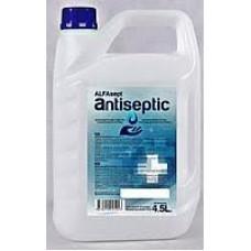 Антисептик на спиртовой основе ALFAsept 4,5 литра.